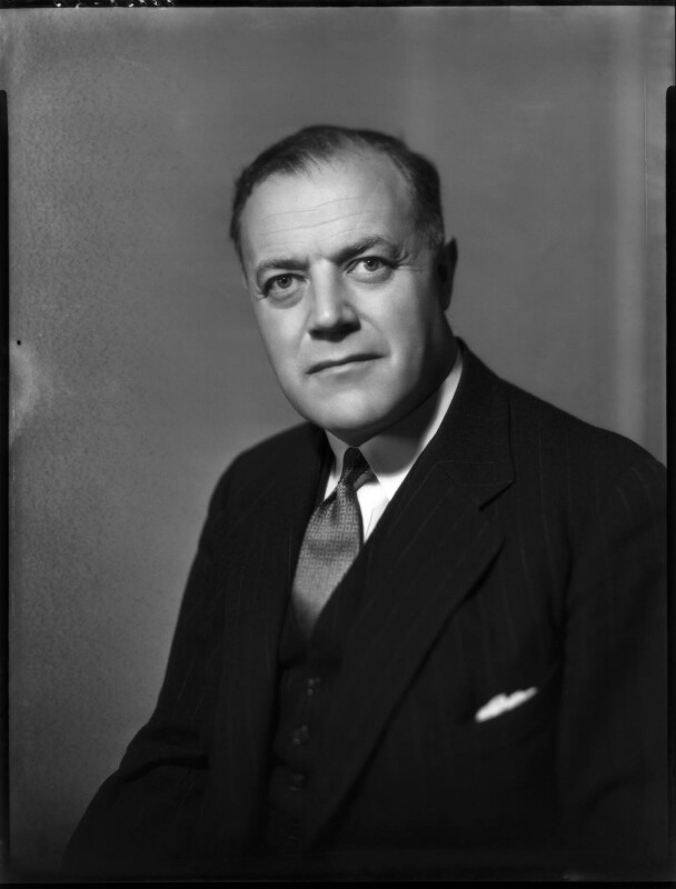 Richard Rapier Stokes, by Bassano Ltd, 18 April 1940 - NPG x154184 - © National Portrait Gallery, London