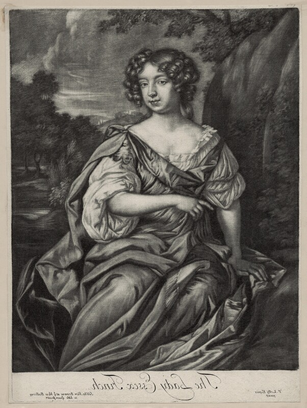 Essex Finch (née Rich), Countess of Nottingham, published by Alexander Browne, after  Sir Peter Lely, circa 1681-1682 - NPG D30540 - © National Portrait Gallery, London
