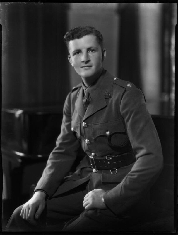 Henry Paget King-Fretts, by Bassano Ltd, 13 June 1940 - NPG x154286 - © National Portrait Gallery, London