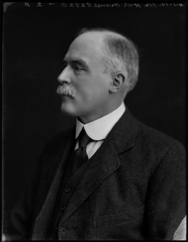 Sir Hugh William Orange, by Bassano Ltd, 4 January 1919 - NPG x154294 - © National Portrait Gallery, London