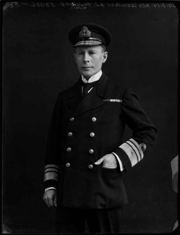 Francis Spurstow Miller, by Bassano Ltd, 20 January 1919 - NPG x154297 - © National Portrait Gallery, London