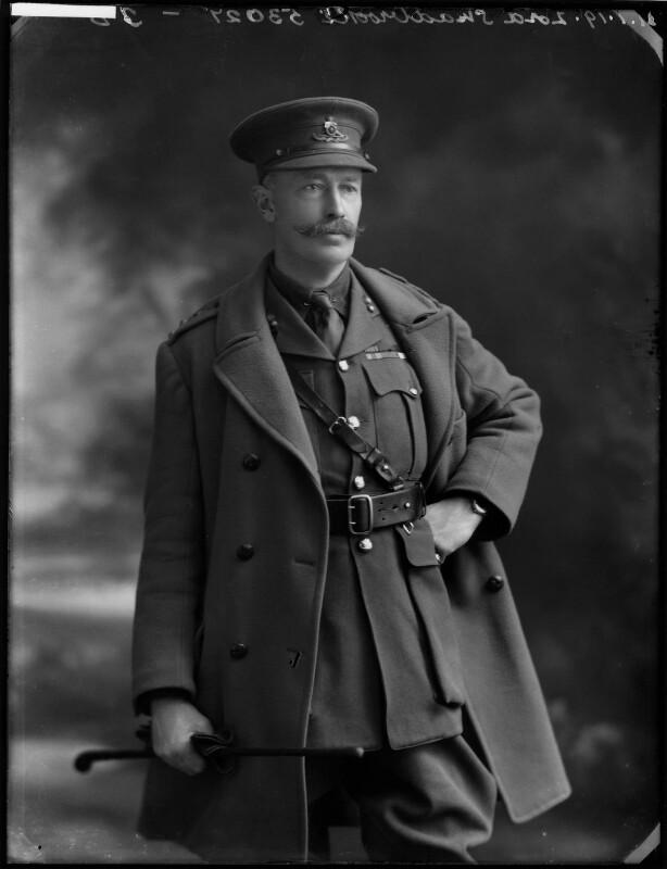 George Edward John Mowbray Rous, 3rd Earl of Stradbroke, by Bassano Ltd, 21 January 1919 - NPG x154298 - © National Portrait Gallery, London