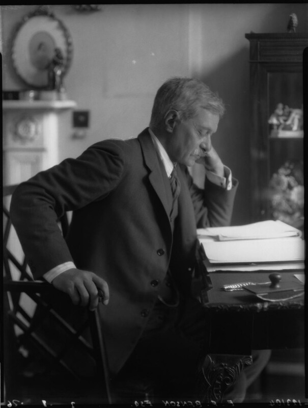Edward Frederic Benson, by Lafayette, 1 August 1926 - NPG x37036 - © National Portrait Gallery, London
