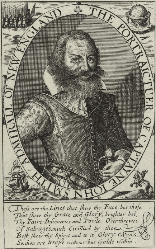 John Smith, after Simon de Passe, 18th century - NPG D32914 - © National Portrait Gallery, London