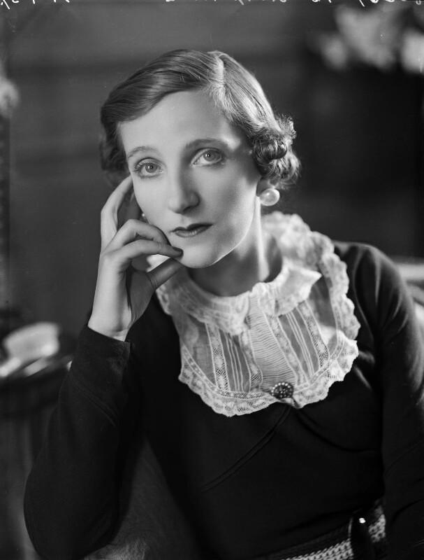 Victoria Ruth Mary Rosamund Vivian (née Oliphant), Lady Vivian, by Bassano Ltd, 29 September 1937 - NPG x153211 - © National Portrait Gallery, London