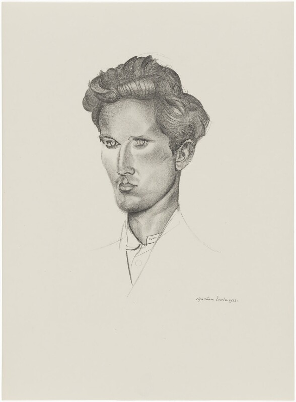 Henry John, after Wyndham Lewis, 1932 - NPG D32947 - © Wyndham Lewis and the estate of the late Mrs G A Wyndham Lewis by kind permission of the Wyndham Lewis Memorial Trust (a registered charity)