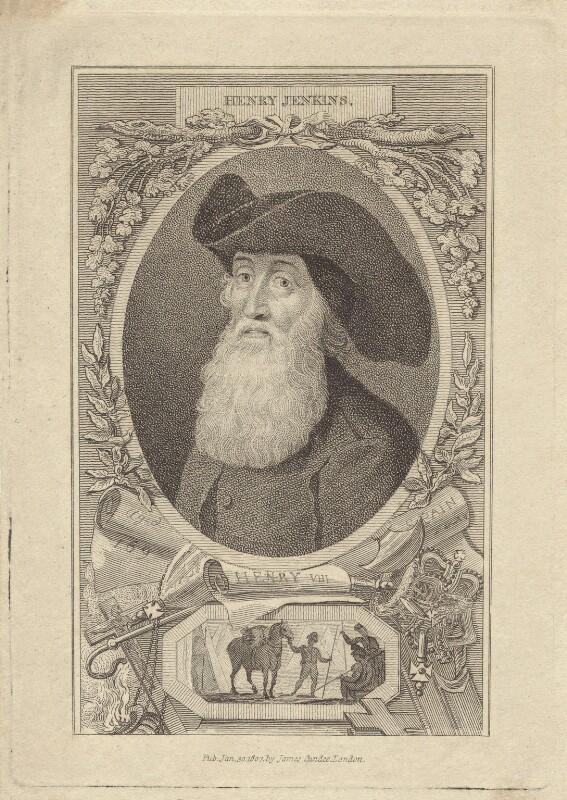 Henry Jenkins, after Walker, published 1807 - NPG D30692 - © National Portrait Gallery, London