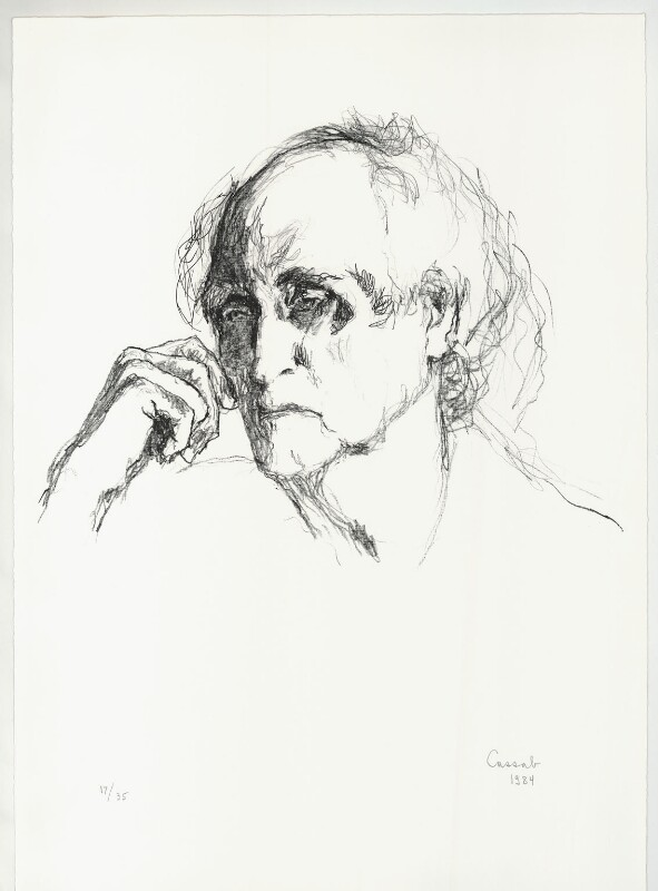 Lloyd Frederic Rees, by Judy Cassab, 1984 - NPG D32996 - © National Portrait Gallery, London