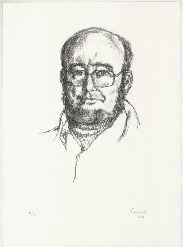 Thomas Michael Keneally, by Judy Cassab (Mrs Kampfner), 1984 - NPG D33000 - © National Portrait Gallery, London
