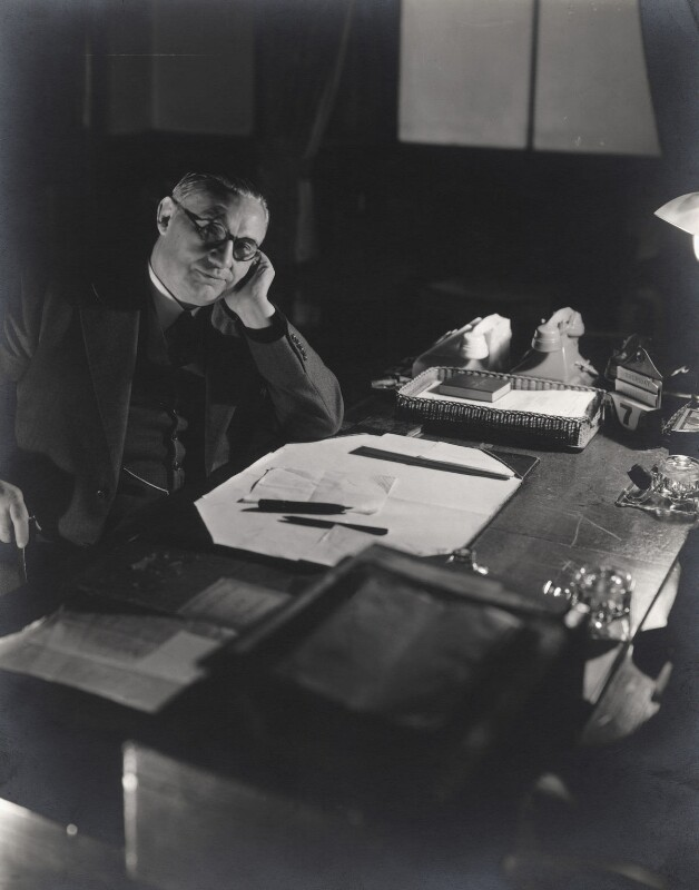 Ernest Bevin, by Cecil Beaton, 7 November 1940 - NPG x14031 - © Cecil Beaton Studio Archive, Sotheby's London