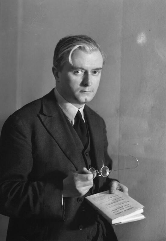 Sir Denis William Brogan, by Howard Coster, 1940s - NPG x3171 - © National Portrait Gallery, London