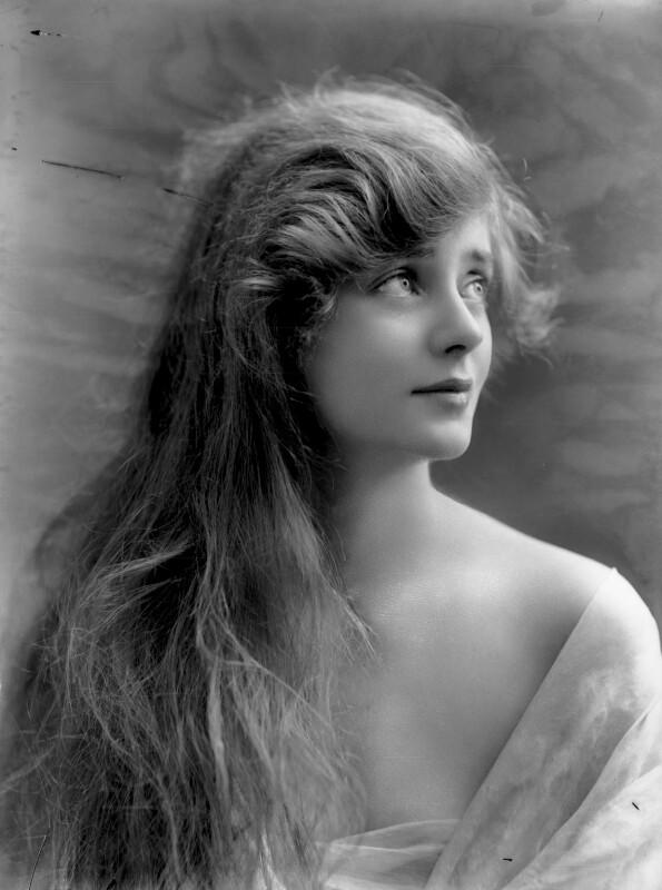 (Elsie) Evelyn Laye, by Bassano Ltd, 12 July 1917 - NPG x26886 - © National Portrait Gallery, London