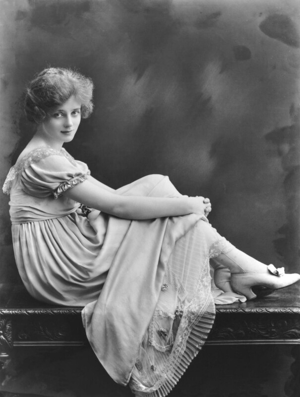 (Elsie) Evelyn Laye, by Bassano Ltd, June 1918 - NPG x16545 - © National Portrait Gallery, London