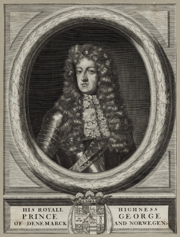 Prince George of Denmark, Duke of Cumberland, after Sir Godfrey Kneller, Bt, late 17th to early 18th century - NPG D30816 - © National Portrait Gallery, London