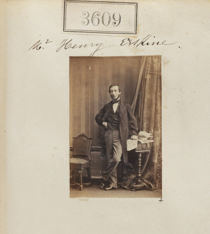 Henry Trail Erskine, by Camille Silvy, 14 May 1861 - NPG Ax53005 - © National Portrait Gallery, London
