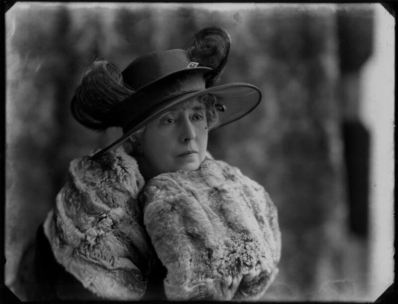 Beatrice Alexandra (née O'Flanagan), Lady Kent, by Bassano Ltd, 25 April 1919 - NPG x154411 - © National Portrait Gallery, London