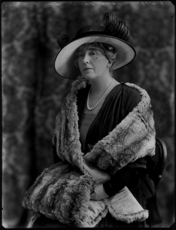 Beatrice Alexandra (née O'Flanagan), Lady Kent, by Bassano Ltd, 25 April 1919 - NPG x154413 - © National Portrait Gallery, London