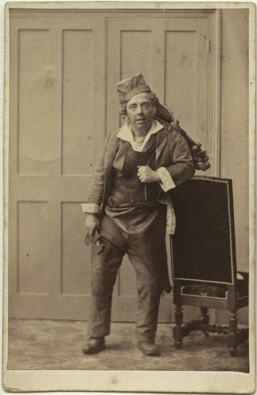 (Thomas) Frederick Robson (né Brownbill), by Camille Silvy, circa 1859 - NPG x22076 - © National Portrait Gallery, London