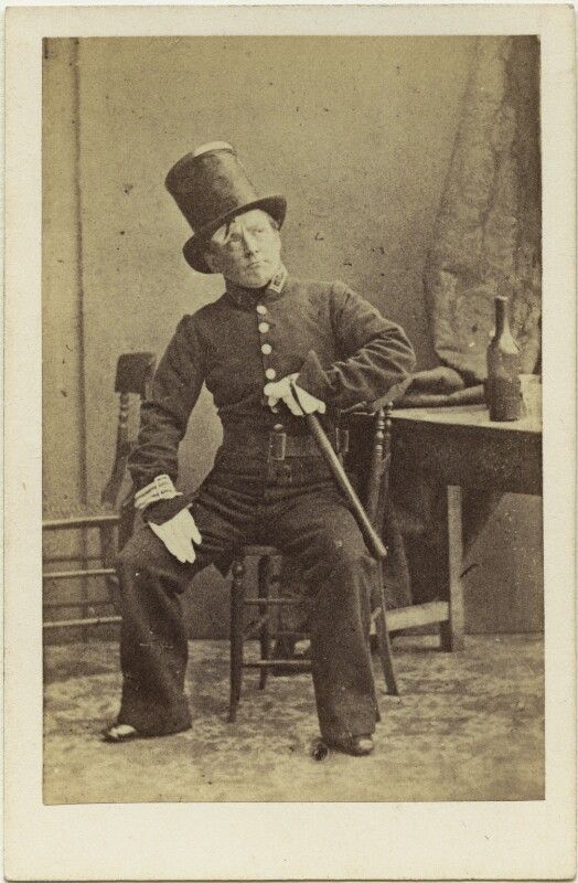 (Thomas) Frederick Robson (né Brownbill), after Camille Silvy, circa 1859 - NPG x22080 - © National Portrait Gallery, London