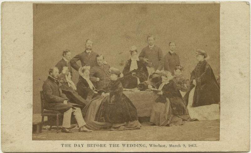 'The day before the wedding', by John Jabez Edwin Mayall, 9 March 1863 - NPG x131715 - © National Portrait Gallery, London