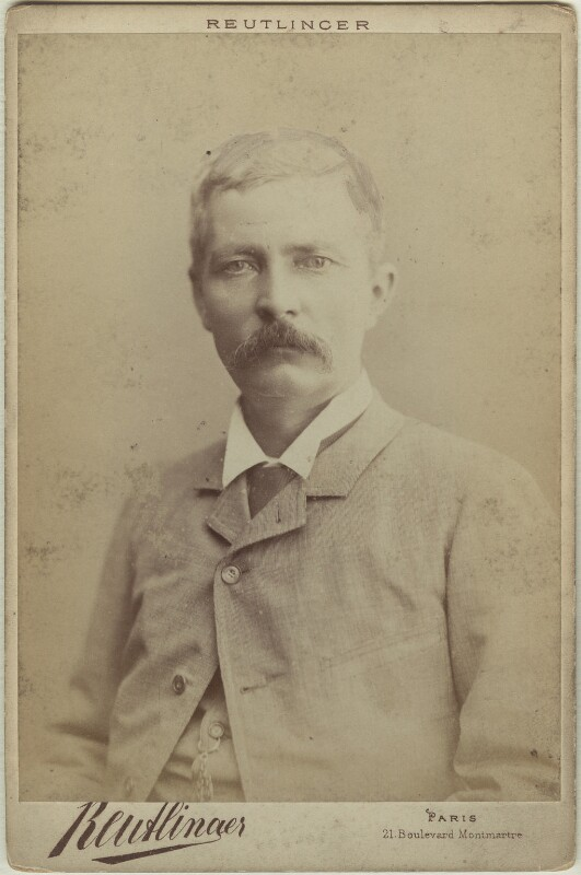 Sir Henry Morton Stanley, by Reutlinger, 1882 - NPG x38840 - © National Portrait Gallery, London