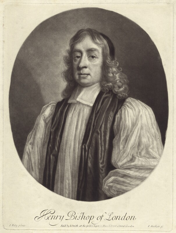 Henry Compton, by Isaac Beckett, after  John Riley, published by  John Smith, (circa 1680-1685) - NPG D30884 - © National Portrait Gallery, London