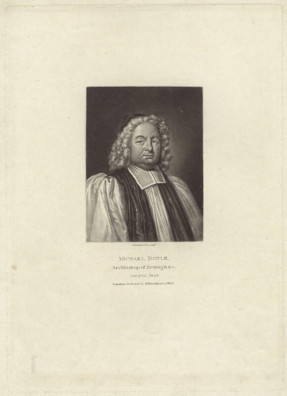 Michael Boyle, by Robert Dunkarton, published by  Samuel Woodburn, published 1813 - NPG D30902 - © National Portrait Gallery, London