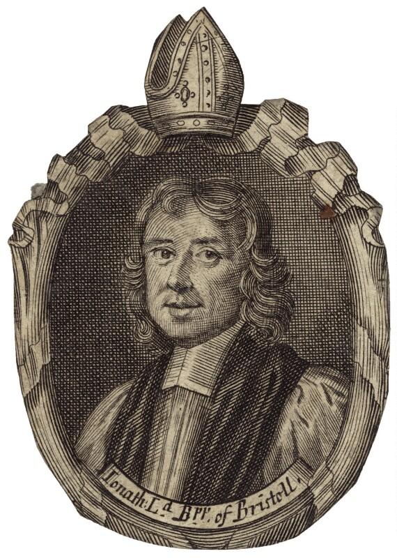 Sir Jonathan Trelawny, 3rd Bt, by Robert White, published by  Thomas Basset, published by  Thomas Fox, published 1689 - NPG D30907 - © National Portrait Gallery, London