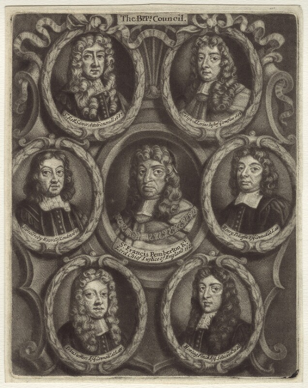 The Bishops' Council, after Unknown artist, 1688 or after - NPG D30927 - © National Portrait Gallery, London