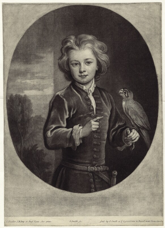 Charles Townshend, 3rd Viscount Townshend, by and published by John Smith, after  Sir Godfrey Kneller, Bt, 1702 - NPG D30946 - © National Portrait Gallery, London