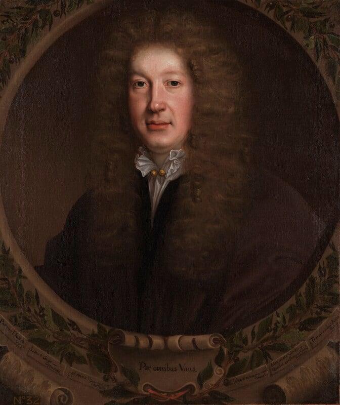 John Dryden, by John Michael Wright, circa 1668 - NPG 6854 - © National Portrait Gallery, London