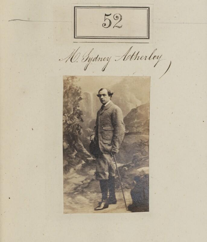 Sydney Kerr Buller Atherley, by Camille Silvy, 1860 - NPG Ax50044 - © National Portrait Gallery, London