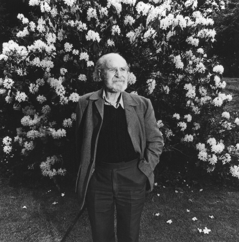 Basil Bunting, by Dudley Reed, 1983 - NPG x35713 - © Dudley Reed / National Portrait Gallery, London