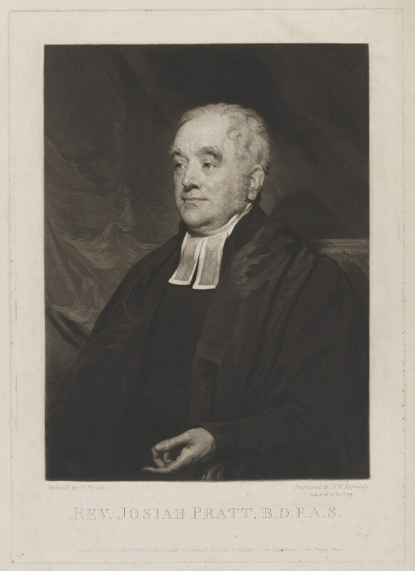 Josiah Pratt, by Samuel William Reynolds, published by  Dobbs & Co, after  Henry Wyatt, published 1 May 1826 - NPG D9240 - © National Portrait Gallery, London