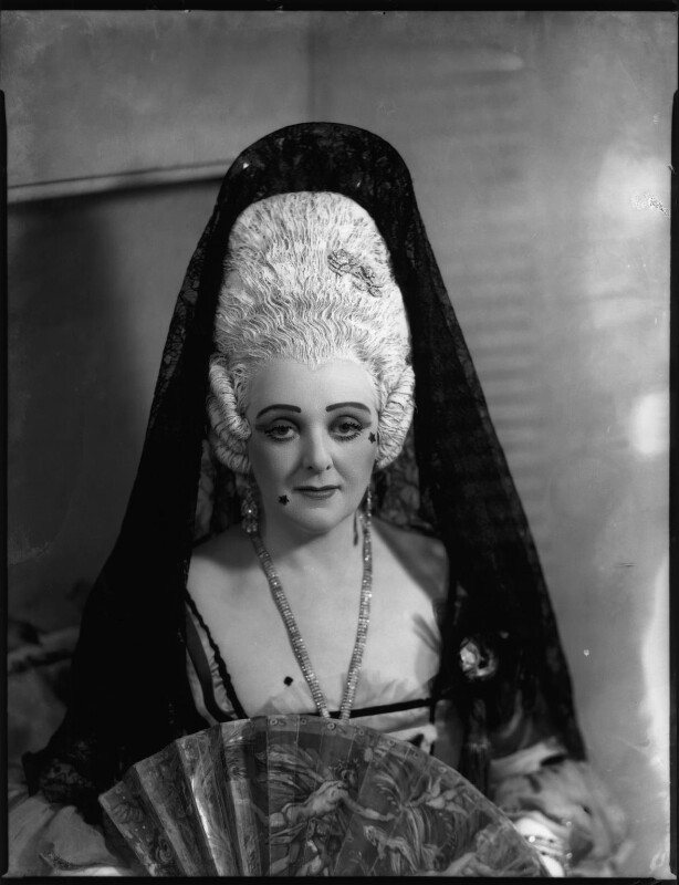 Evelyn Gardiner (née Enid Griffin) as Duchess of Plaza-Toro in 'The Gondoliers', by Bassano Ltd, 29 June 1938 - NPG x153414 - © National Portrait Gallery, London