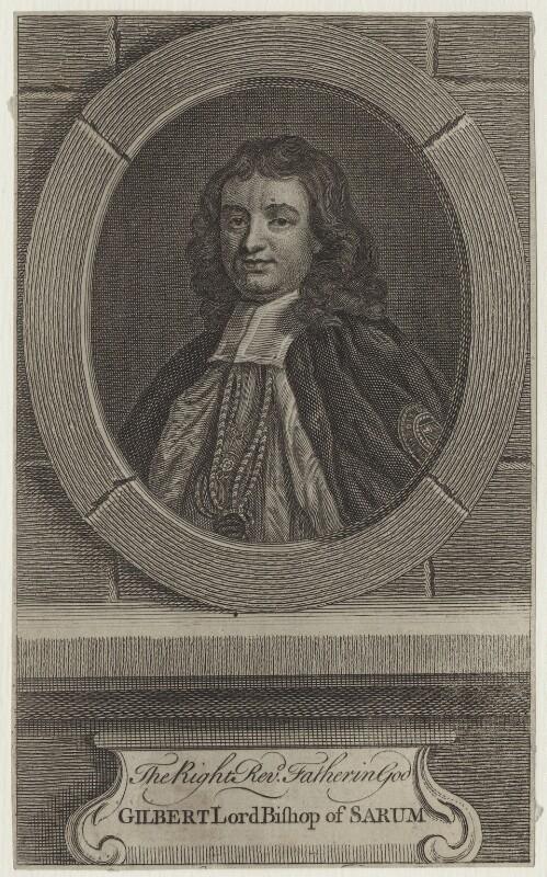 Gilbert Burnet, after John Riley, mid 18th century - NPG D31132 - © National Portrait Gallery, London