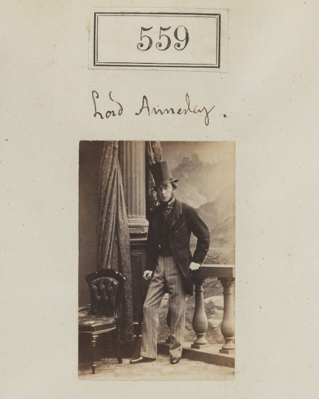 William Richard Annesley, 4th Earl Annesley, by Camille Silvy, 1860 - NPG Ax50252 - © National Portrait Gallery, London