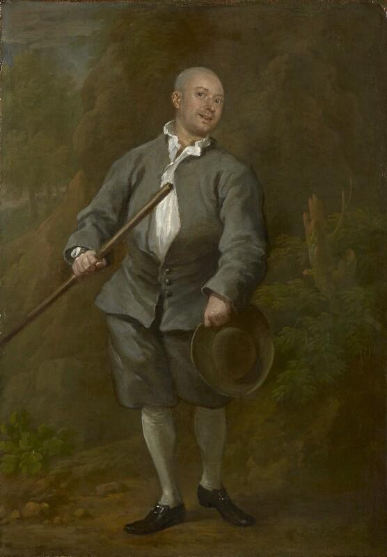 John ('Jack') Broughton, by William Hogarth, circa 1730 - NPG L243 - private collection