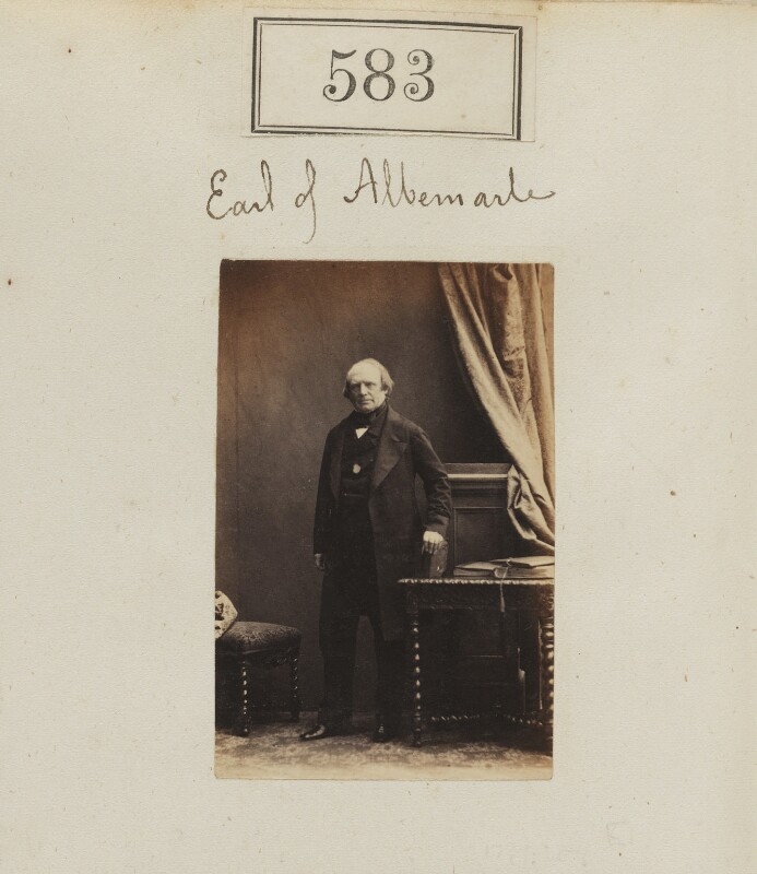 George Thomas Keppel, 6th Earl of Albemarle, by Camille Silvy, 1860 - NPG Ax50264 - © National Portrait Gallery, London
