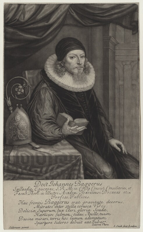 Hans Bagger, by John Smith, after  Saleman, 1698 - NPG D31185 - © National Portrait Gallery, London