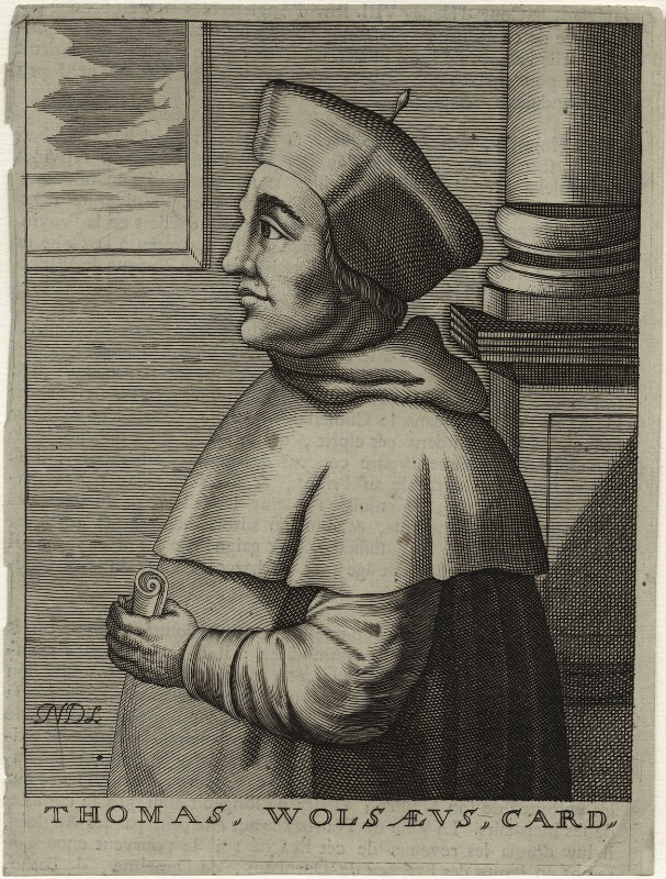 Thomas Wolsey, by Nicolas de Larmessin, 17th century - NPG D33088 - © National Portrait Gallery, London