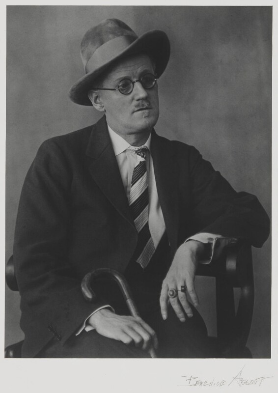 James Joyce, by Berenice Abbott, 1928 - NPG P1310 - © Berenice Abbott / Commerce Graphics Ltd, Inc.