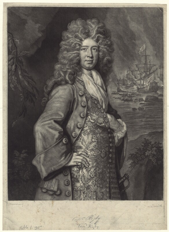 Edward Rigby, by John Smith, after  Thomas Murray, 1702 - NPG D31213 - © National Portrait Gallery, London