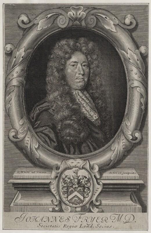 John Fryer, by Robert White, late 17th century - NPG D31243 - © National Portrait Gallery, London