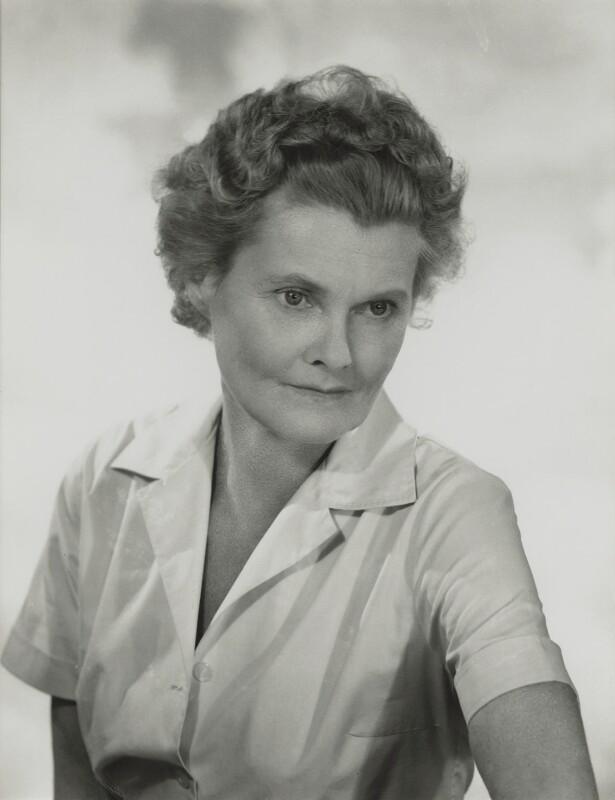 Joy Adamson (née Friederike Viktoria Gessner), by Madame Yevonde, 1962 - NPG x131726 - © Yevonde Portrait Archive