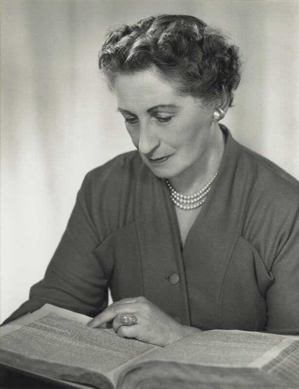 Vera Brittain, by Madame Yevonde, 1968 - NPG x131729 - © Yevonde Portrait Archive