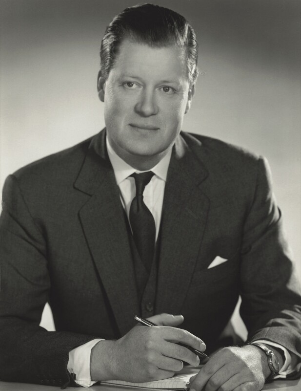 Edward John Spencer, 8th Earl Spencer, by Madame Yevonde, October 1967 - NPG x131733 - © Yevonde Portrait Archive / Mary Evans Picture Library