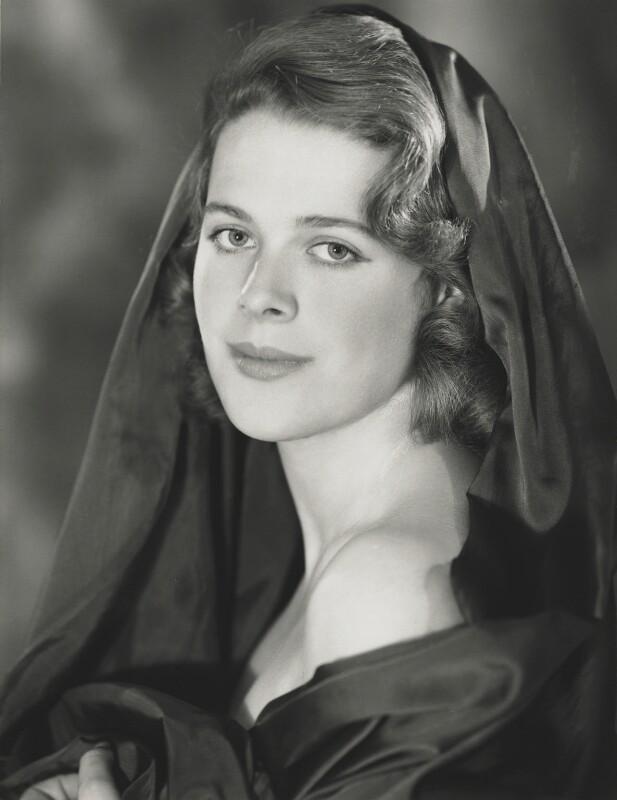 Lady Antonia Fraser (née Pakenham), by Madame Yevonde, 1956 - NPG x131734 - © Yevonde Portrait Archive
