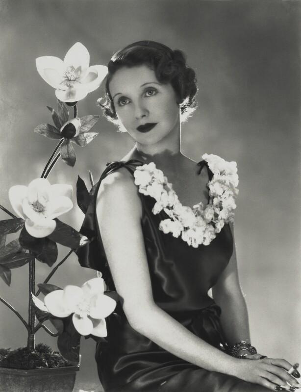 June (née Howard-Tripp), Lady Inverclyde, by Madame Yevonde, 1940s - NPG x131738 - © Yevonde Portrait Archive