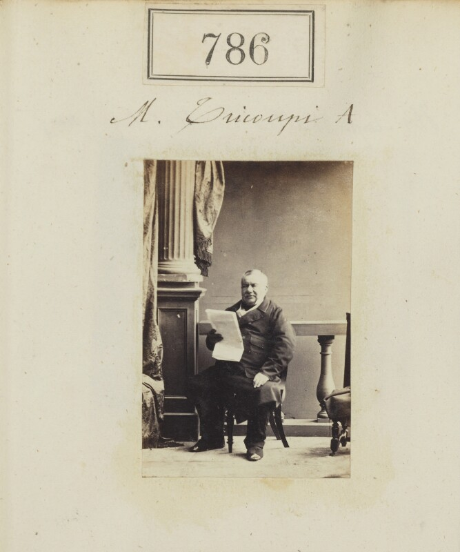Spiridon Trikoupis (Tricoupis), by Camille Silvy, 1860 - NPG Ax50395 - © National Portrait Gallery, London